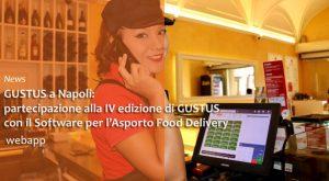 Partecipazione GUSTUS | Food Delivery | Software Asporto Pizzeria