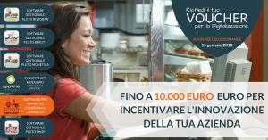 Voucher Digitalizzazione FINO A 10.000 EURO PER INCENTIVARE L'INNOVAZIONE DELLA TUA AZIENDA
