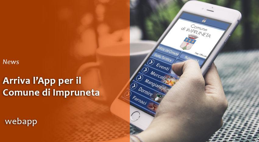 Arriva l'App del Comune di Impruneta!
