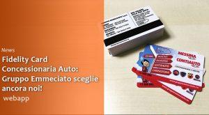 Fidelity Card Concessionaria Auto Gruppo Emmeciauto by Webapp