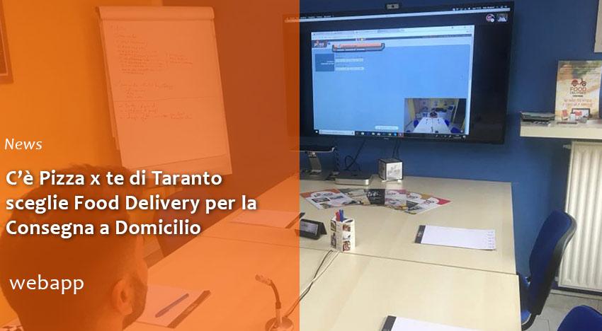 Pizzeria di Taranto sceglie Food Delivery per Consegna a Domicilio