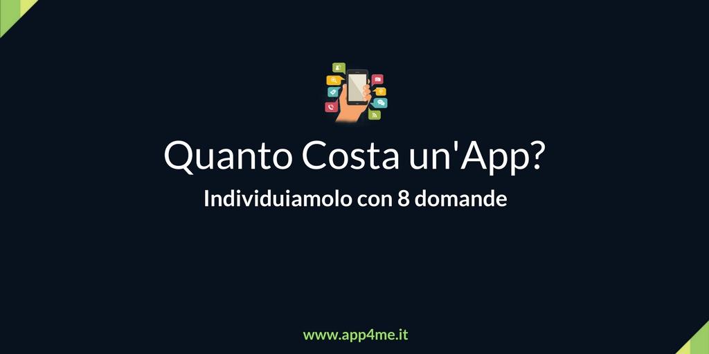Quanto Costa un App