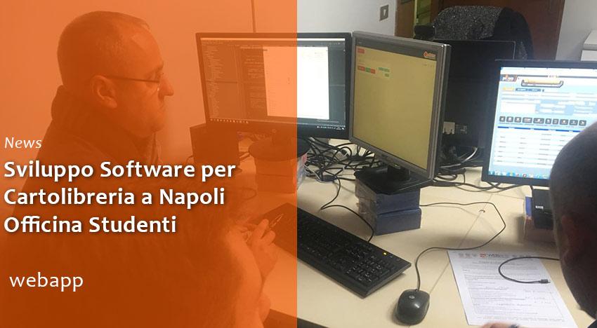 Sviluppo Software per Cartoleria Officina Studenti a Napoli