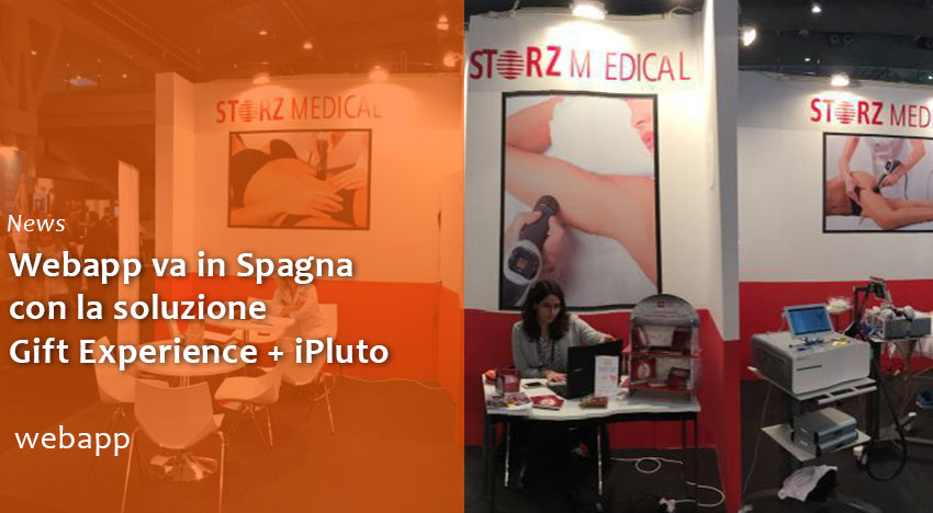 Webapp arriva in Spagna con Gift Experience e iPluto!