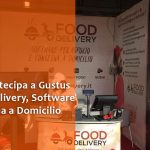 WEBAPP in fiera a Gustus Napoli con Food Delivery, software per Consegna a Domicilio